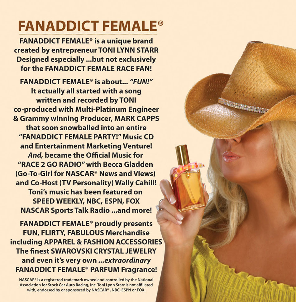 All About Toni Lynn Starr the FanAddict Female