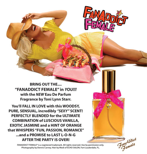 FanAddict Female Parfum Information